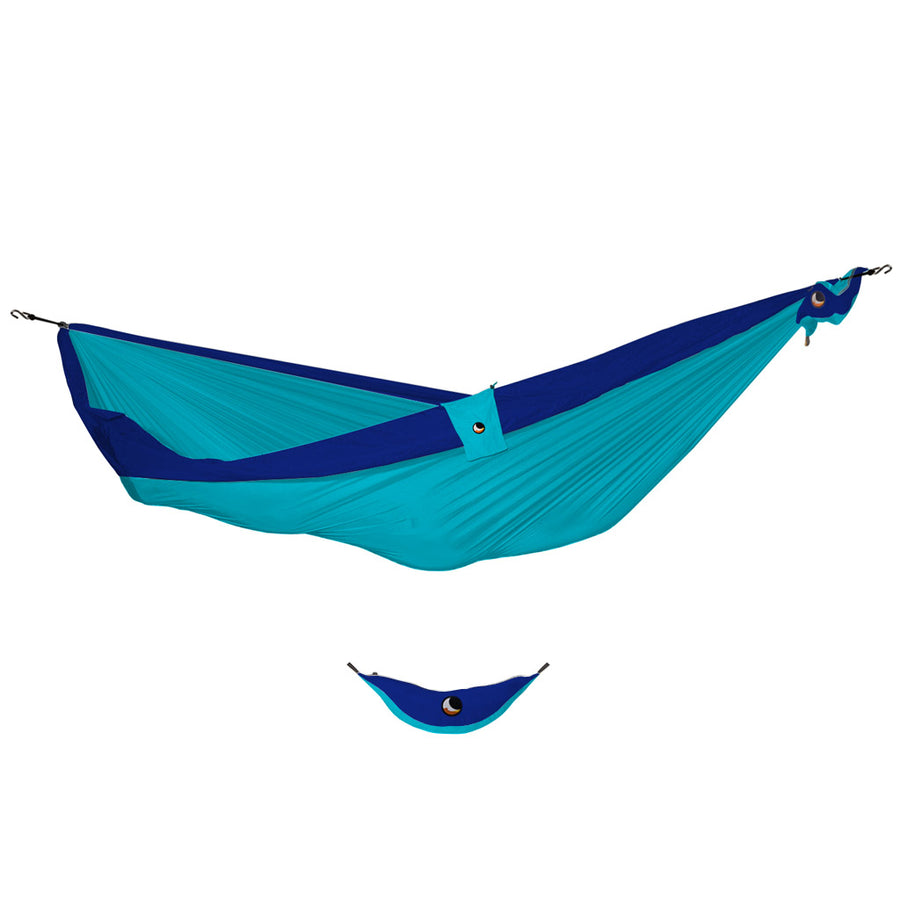 Ticket to the Moon Double Hammock - Turquoise/Royal Blue-Ticket to the Moon-Seaside Surf Shop