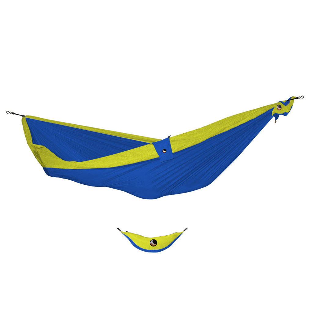 Ticket to the Moon Single Hammock -Blue/Yellow - Seaside Surf Shop