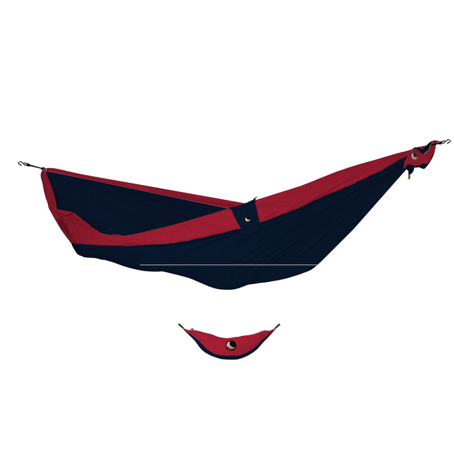 Ticket to the Moon Single Hammock - Navy/Burgundy-Ticket to the Moon-Seaside Surf Shop
