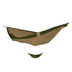 Ticket to the Moon Single Hammock - Brown/Army Green-Ticket to the Moon-Seaside Surf Shop