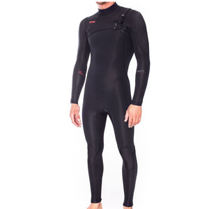 Xcel Infiniti LTD Men's 4/3mm Chest Zip Wetsuit - Black