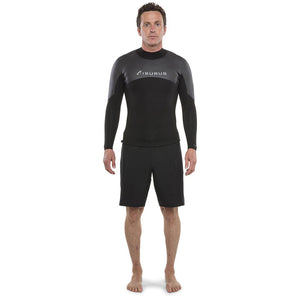Isurus Evade Mens 1.5mm L/S Top - Black