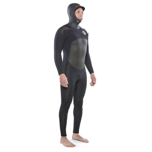 Isurus Ti-Alpha Mens 5.4mm Hooded Wetsuit - Black
