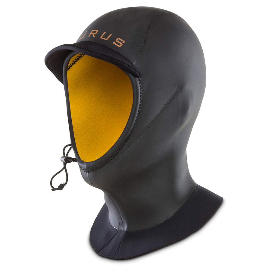 Isurus Evade 2mm Hood - Black-Isurus Wetsuits-Seaside Surf Shop