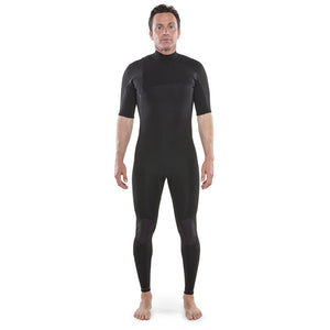 Isurus Shield Zipfree Mens 2.2mm Short Arm Fullsuit - Black