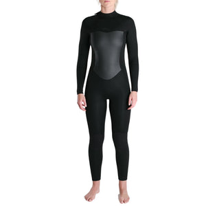 Imperial Motion Luxxe Deluxe Women's 5/4/3mm Hooded Chest Zip Wetsuit - Black