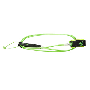 '-Surf Accessories-Creatures 5' Lite Leash - Lime/Clear-Creatures of Leisure-Seaside Surf Shop