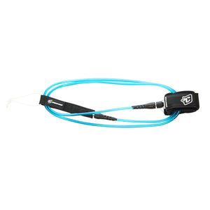 -Surf Accessories-Creatures 6' Pro Leash - Blue/Black-Creatures of Leisure-Seaside Surf Shop