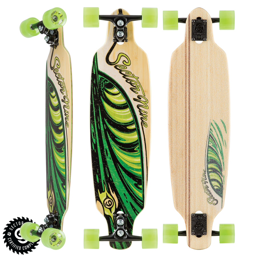 "Sector 9 Lucky Shoots Complete - 33.5"" Bamboo-Sector 9-Seaside Surf Shop"
