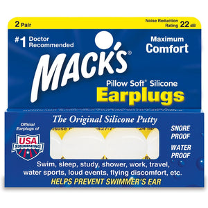 Macks Silicon Ear Plugs-Blocksurf-Seaside Surf Shop
