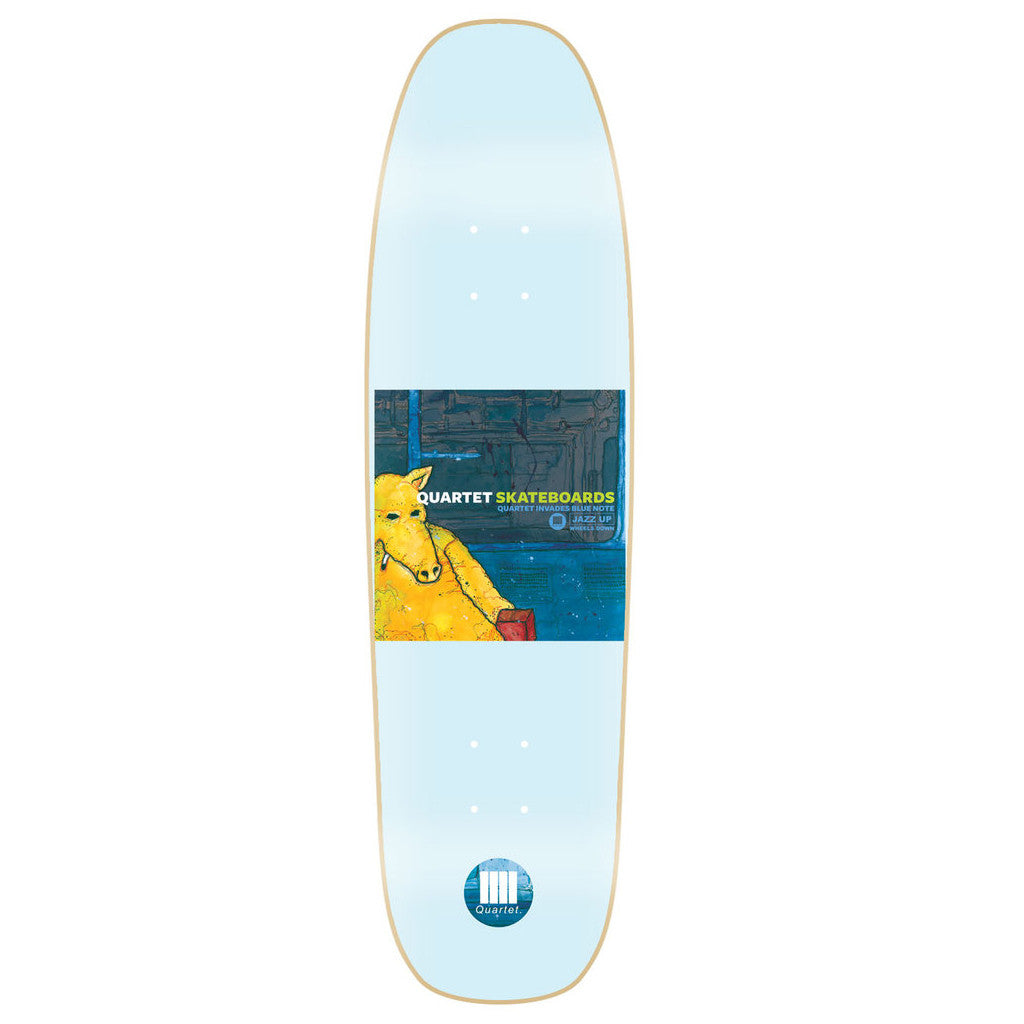 -Skate-Quartet Skateboards Microphone Konducta Deck 8.5-Quartet Skateboards-Seaside Surf Shop