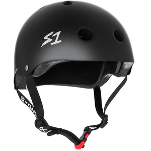 '-Skate-Mini Lifer Skate Helmet Black Matte - Small-S One Helmet Co-Seaside Surf Shop