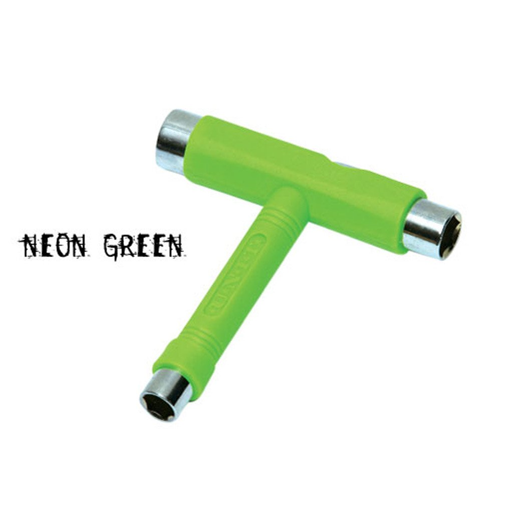 Unit All purpose Skate Tool - Neon Green - Seaside Surf Shop