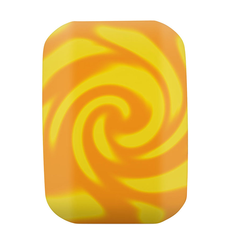 OG Slimeballs Astro Speed Balls 56mm 99a Skateboard Wheels - Orange Yellow Swirl - Seaside Surf Shop