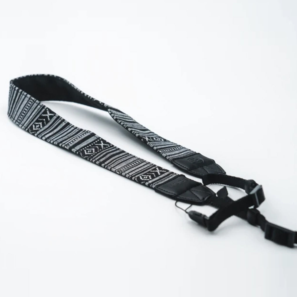 Nocs Woven Tapestry Strap - Black/White - Seaside Surf Shop