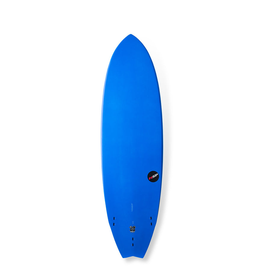 "NSP Surfboards - 6'4"" Protech Fish - Blue"