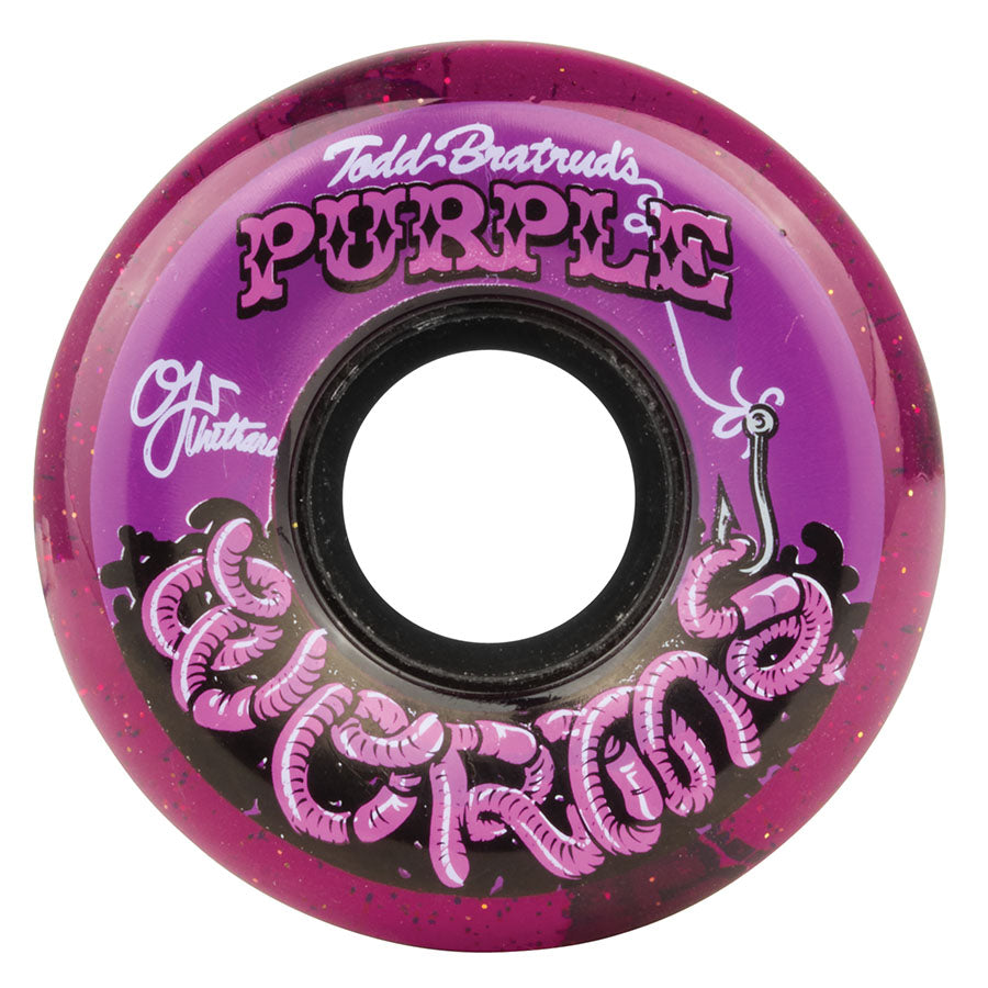 OJ 56mm Keyframe Wheels - Purple Worms