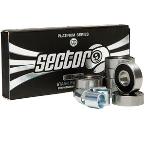 Sector 9 Platinum Abec 9 Bearings - Seaside Surf Shop