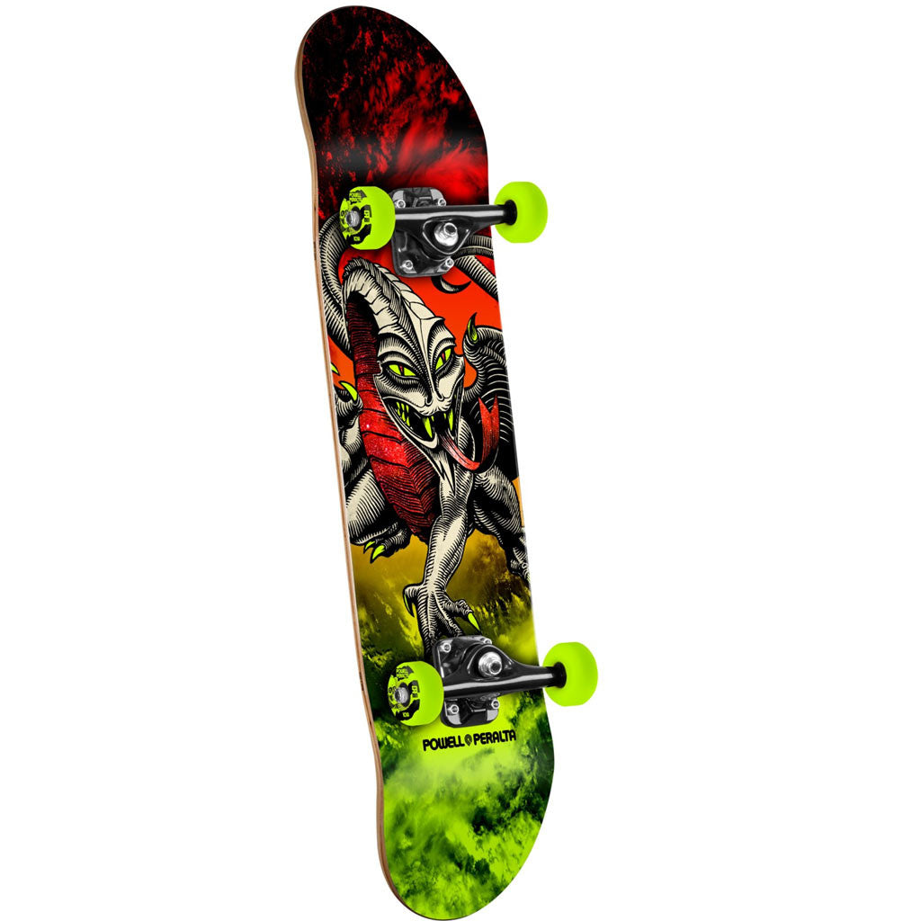 Powell Peralta Cab Dragon Storm Complete - 7.75 Red/Lime
