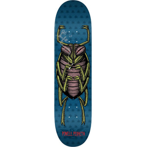 "-Skate-Powell Peralta Roach Skateboard8.25"" Deck - Blue-Powell Peralta-Seaside Surf Shop"