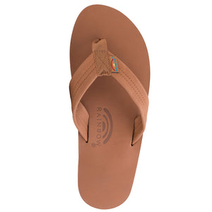 Rainbow Sandals Mens Classic Leather - Tan/Brown