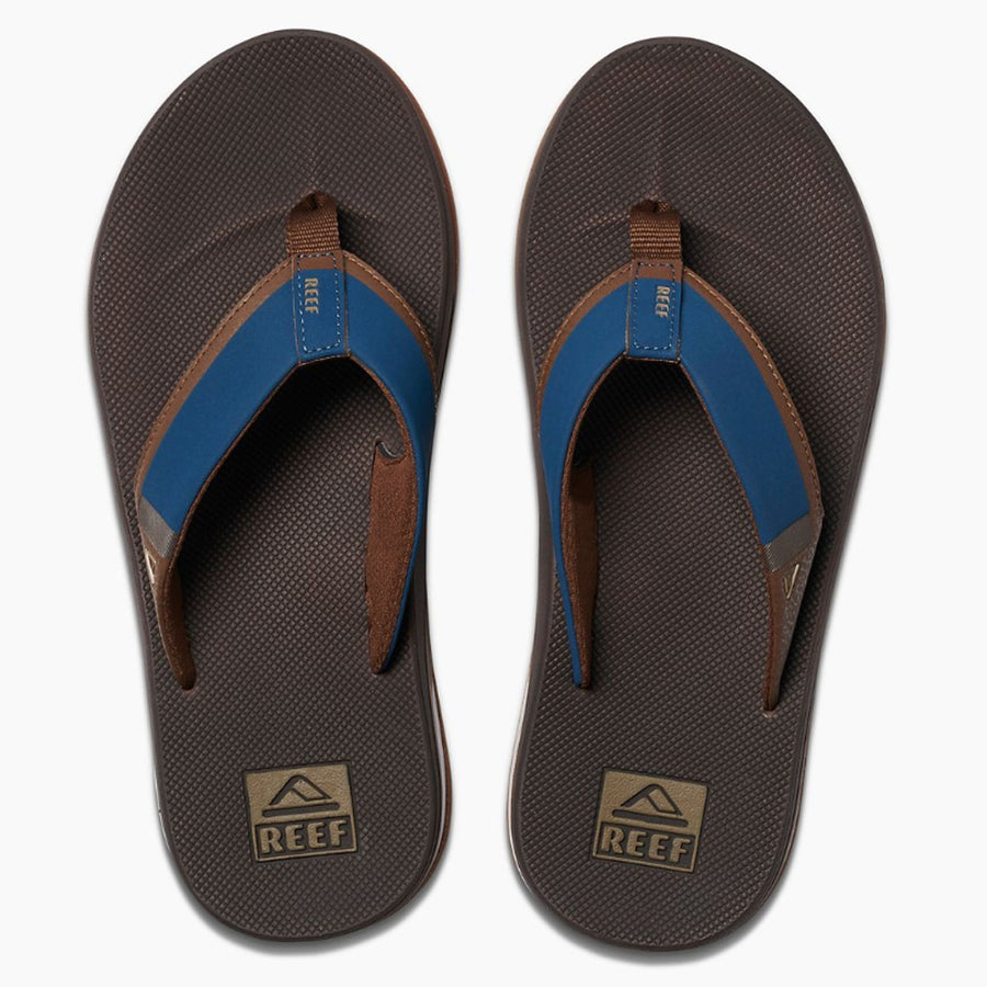 Reef Mens Fanning Low - Navy/Brown