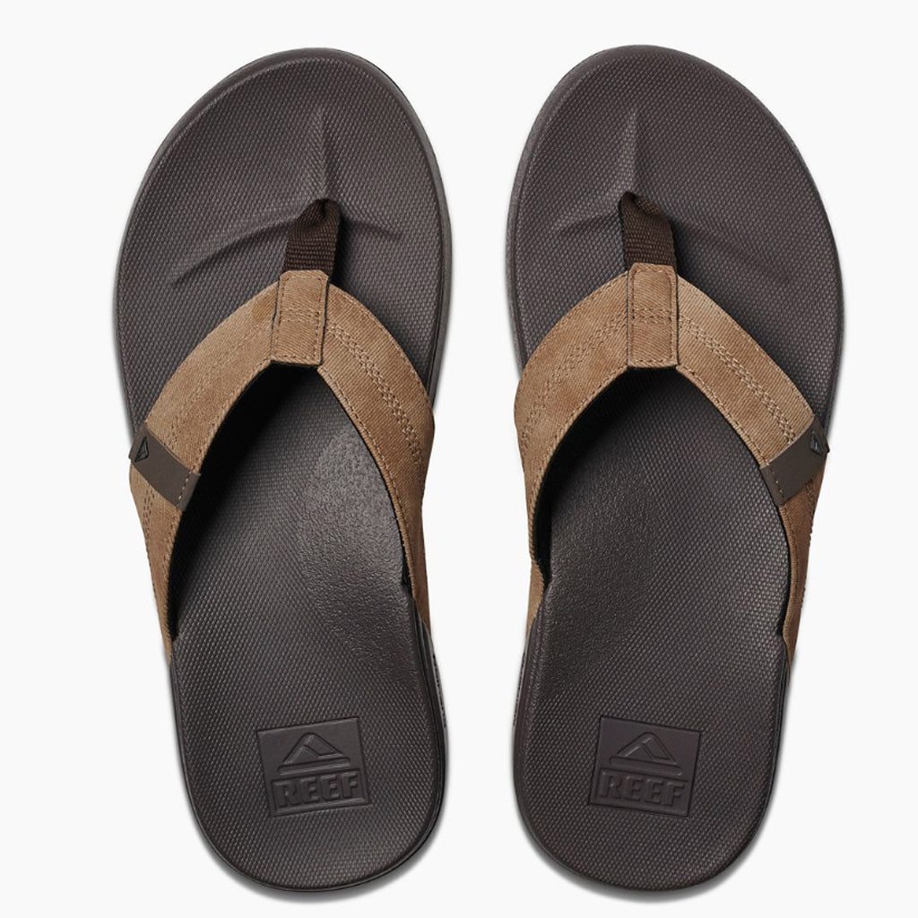Reef Mens Cushion Bounce Phantom Sandals - Brown/Tan - Seaside Surf Shop