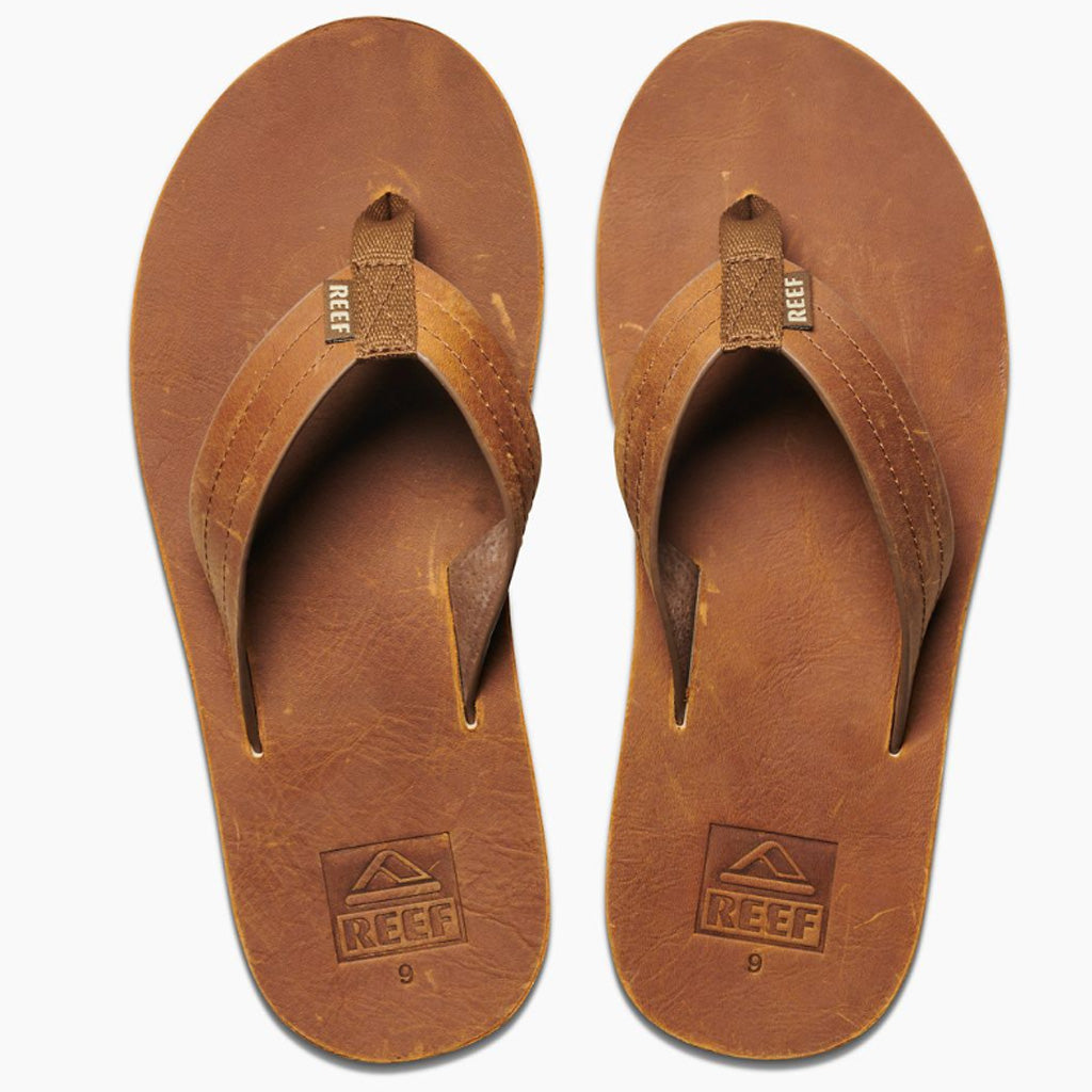Reef Mens Voyage LE Sandals - Brown/Bronze - Seaside Surf Shop