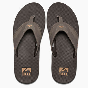 Reef Mens Fanning - Brown/Gum