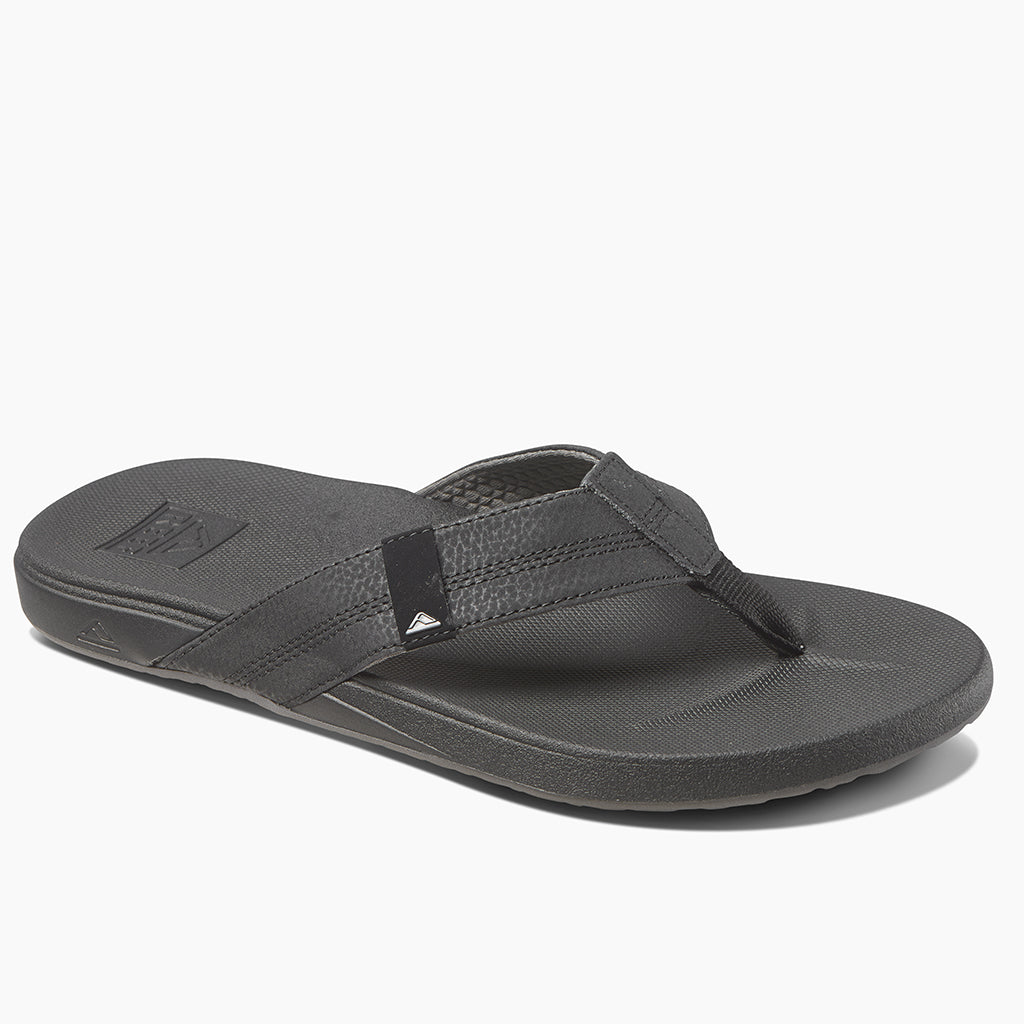 Reef Mens Cushion Bounce Phantom Sandals - Black - Seaside Surf Shop