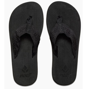 Reef Womens Sandy Sandals - Black