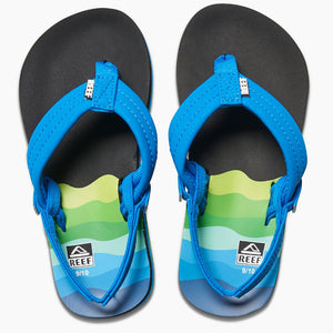 Reef Little Ahi - Aqua/Blue