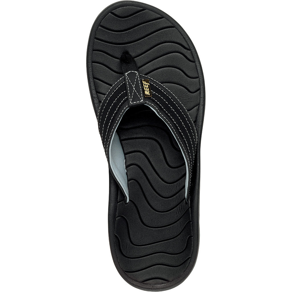 Reef Mens Swellular Cushion Lux Sandals - Black