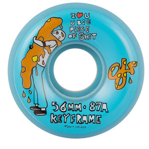 Ricta 56mm Porous Walker Keyframe 87A Wheels - Blue-Ricta Wheels-Seaside Surf Shop