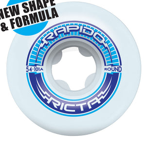 Ricta 54mm Rapido Round 101A Wheels - White-Ricta Wheels-Seaside Surf Shop