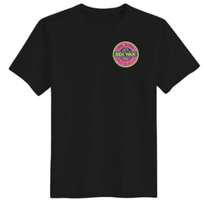 Sex Wax Mens Fluoro Tee - Black