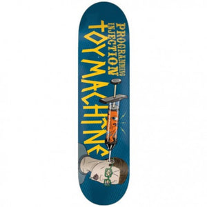 "Toy Machine Programming Injection  8.38"" Deck - Blue"