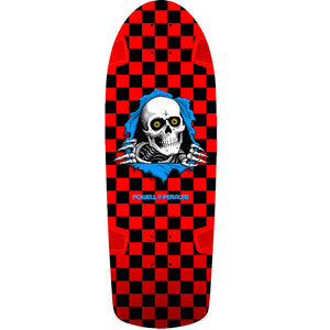 Powell Peralta Ripper Skateboard 10.0 Deck - Red/Black