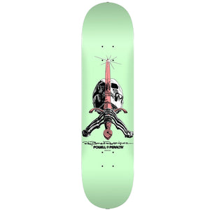 "Powell Peralta Skull & Sword 9.0"" Deck - Pastel Green"