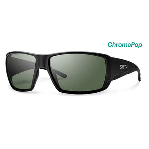 Smith Optics Guides Choice - Matte Black/ChromaPop Polarized Gray Green-Smith Optics-Seaside Surf Shop