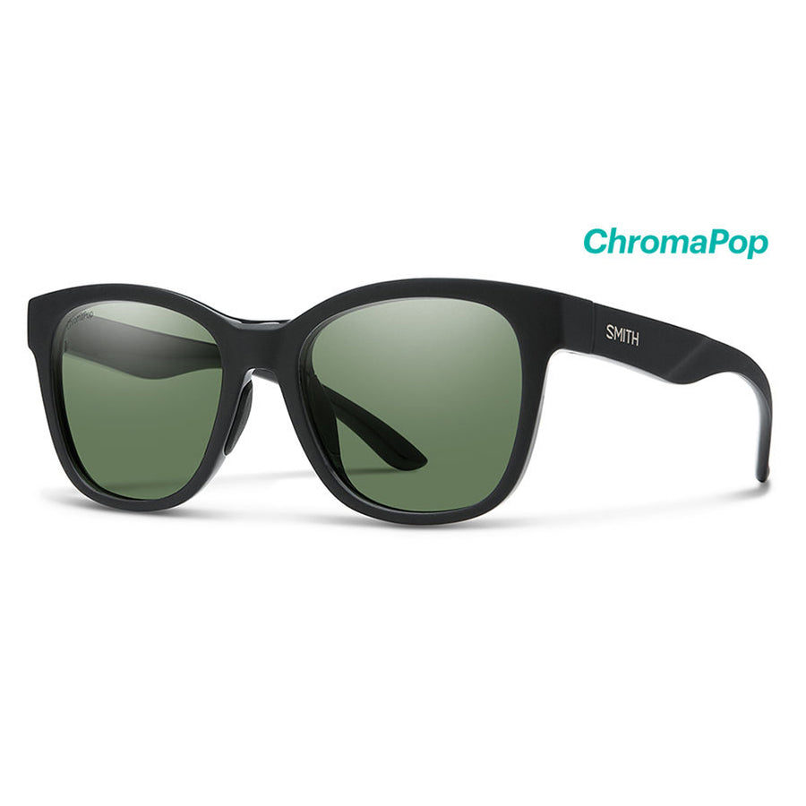Smith Optics Caper - Matte Black/Polarized Gray Green, Sunglasses, Smith Optics, Smith Optics, Smith Optics Caper - Matte Black/Polarized Gray Green