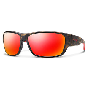 Smith Optics Forge - Matte Camo/Polarized Red Mirror