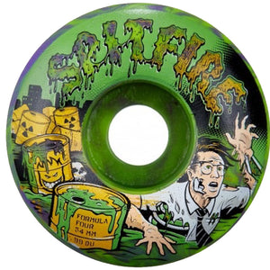 Spitfire 56mm Toxic Apocalypse Wheels - Green