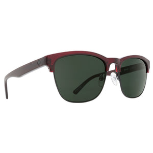 Spy Optics Loma - Transclucent Garnet/Matte Black/Happy Grey Green