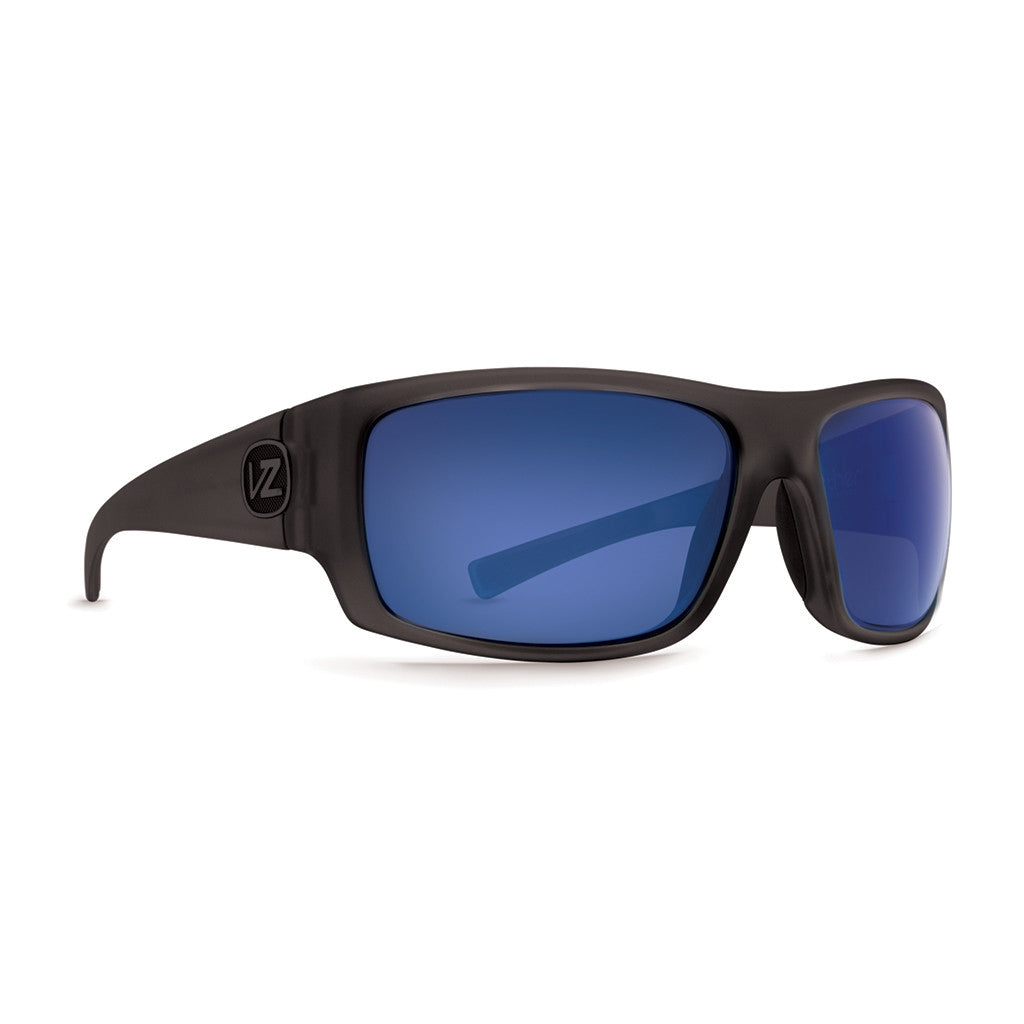 -Sunglasses-Von Zipper Suplex - Charcoal Satin Polarized-Von Zipper-Seaside Surf Shop