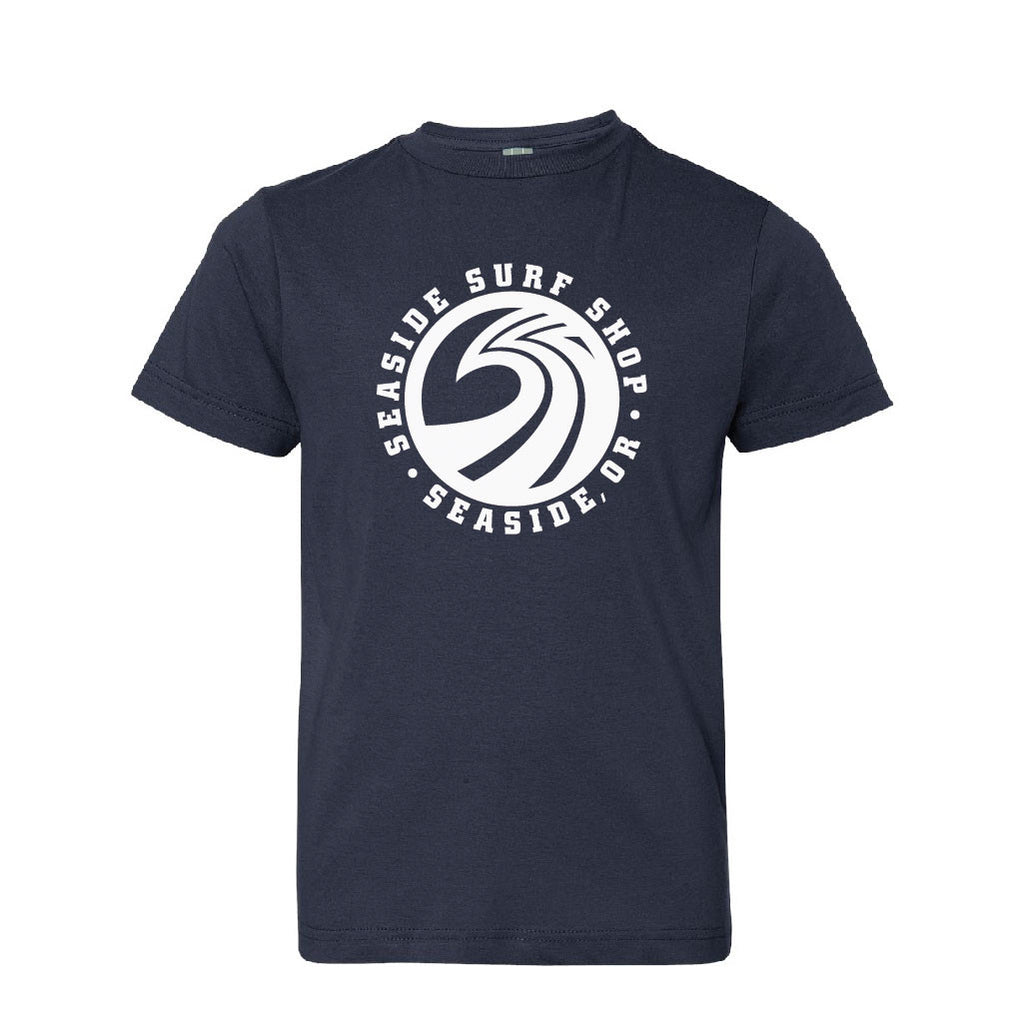Seaside Surf Shop New Wave Youth Tee - Seaside Surf Shop 