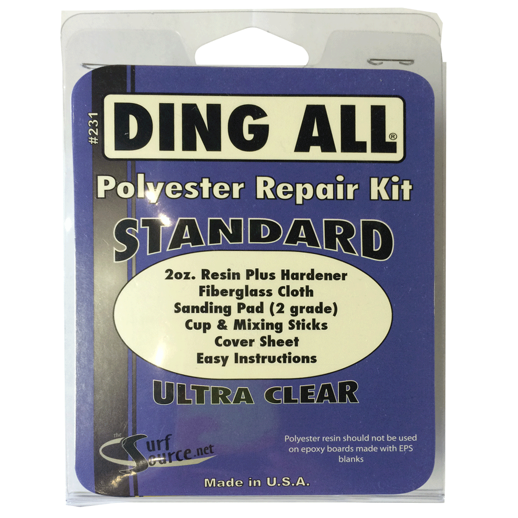 Ding All Standard Repair Kit - Seaside Surf Shop