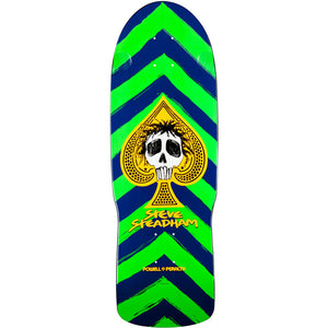 '-Skate-Powell Peralta Steadham Skull and Spade Deck-Powell Peralta-Seaside Surf Shop