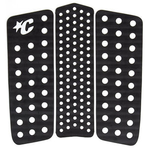 Creatures Front Deck III Traction Pad - Black-Creatures of Leisure-Seaside Surf Shop
