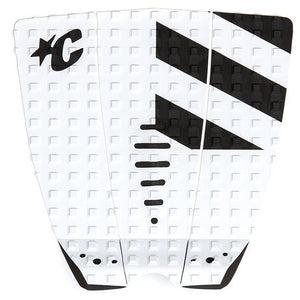 Creatures Mick Fanning Traction Pad - White/Black